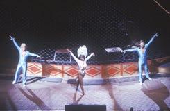 Uitvoerders, Ringling-Broers & Barnum & Bailey Circus Royalty-vrije Stock Foto