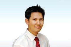 Uitvoerend mannelijk portret Royalty-vrije Stock Foto's