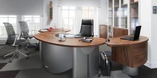 Uitvoerend panoramisch Office 03 vector illustratie