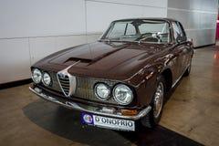 Uitvoerende auto Alfa Romeo 2600 Sprint Tipo 106, 1962 Royalty-vrije Stock Foto