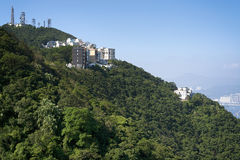 Uitvoerende Flats, Hong Kong Royalty-vrije Stock Foto