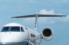 Uitvoerende straalvliegtuigen Stock Foto's