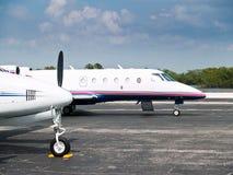 Uitvoerende Vliegtuigen stock afbeelding