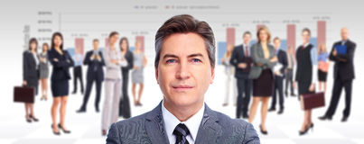 Uitvoerende zakenman. Royalty-vrije Stock Fotografie