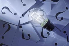 Uitwisseling van ideeën Stock Foto