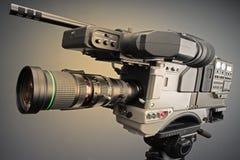 Uitzending camcorder Royalty-vrije Stock Foto's