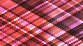 Uitzending het Fonkelen Abstract Diamond Hi-Tech Strips, Kastanjebruin, Loopable, 4K stock footage