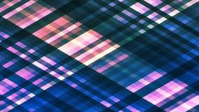 Uitzending het Fonkelen Diamond Hi-Tech Strips, Blauw, Samenvatting, Loopable, 4K stock footage