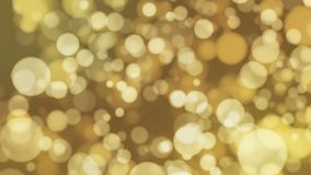 Uitzending Lichte Gele Bokeh, Gebeurtenissen, Loopable, 4K stock videobeelden