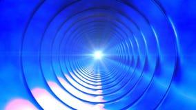 Uitzendings Eindeloze Hi-Tech Tunnel 06 royalty-vrije illustratie