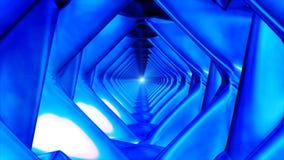 Uitzendings Eindeloze Hi-Tech Tunnel 32 royalty-vrije illustratie