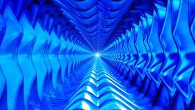 Uitzendings Eindeloze Hi-Tech Tunnel 27 stock illustratie