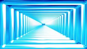 Uitzendings Eindeloze Tunnel 03 stock illustratie