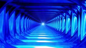 Uitzendings Eindeloze Tunnel 16 royalty-vrije illustratie