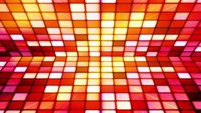 Uitzendings Fonkelend Hi-Tech Kubussenstadium 20 stock video