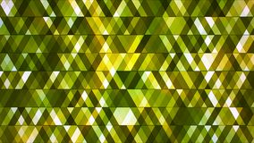 Uitzendings Fonkelende Hi-Tech Abstracte Diamanten, Groen, Loopable, 4K stock footage