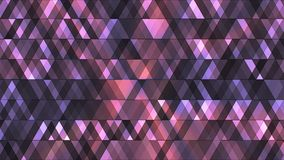Uitzendings Fonkelende Hi-Tech Diamanten, Purple, Samenvatting, Loopable, 4K stock footage