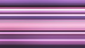 Uitzendings Fonkelende Horizontale Hi-Tech Bars, Purple, Samenvatting, Loopable, 4K vector illustratie