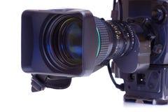 Uitzendingsvideocamera royalty-vrije stock foto