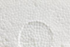 Uitzetbare polystyreentextuur Stock Foto