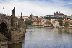 Uitzicht van Praag Stock Fotografie