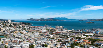 Uitzichtse San Francisco Royalty-vrije Stock Foto's