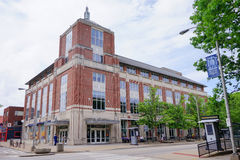 UIUC Campus Building: Bookstore Stock Photography