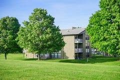 UIUC family housing Royalty Free Stock Photo