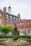 UIUC quad statue Stock Photo