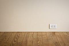 ujście elektryczna stara ściana Zdjęcie Stock
