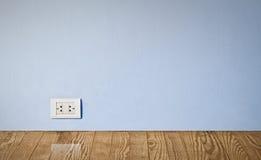 ujście elektryczna stara ściana Zdjęcia Stock