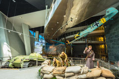Ujawnienie bronie I wyposażenie W Belarusian muzeum Th Zdjęcie Royalty Free