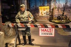 Ujawnienie bronie I wyposażenie W Belarusian muzeum Th Obrazy Royalty Free
