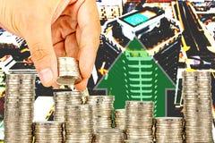 Ujawnienie finanse i oszczędzania pieniądze bankowości pojęcie zdjęcie stock