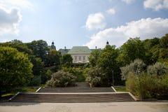 UjazdÃ-³ w Schloss in Warschau in Polen, Europa stockfotografie
