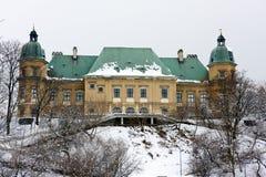 Ujazdow城堡在华沙 免版税库存图片