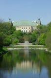 Ujazdow slott (Zamek Ujazdowski), Warszawa, Polen royaltyfri bild