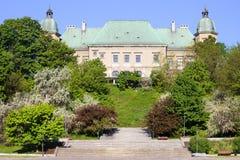 Ujazdowski Castle. Architecture in Warsaw, Poland royalty free stock photo