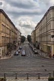 Ujezd. Going to Mala Strana district I captured this nice view of Ujezd street, Prague - Czech Republic Stock Photography