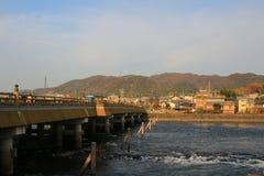 Uji桥梁 库存照片