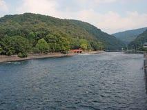 Uji河 库存照片