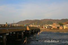 Uji Bridge Stock Image