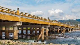 Uji Bridge in Kyoto Stock Photo