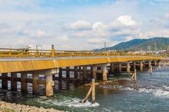 Uji Bridge in Kyoto Stock Images