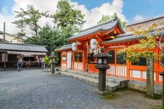 Uji-jinja Shrine in Kyoto, Japan Royalty Free Stock Image