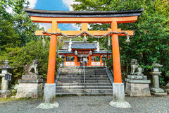 Uji-jinja Shrine in Kyoto, Japan Stock Images