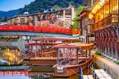 Uji River in Kyoto Stock Image
