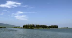 Ujong Pancu海岛 免版税库存照片