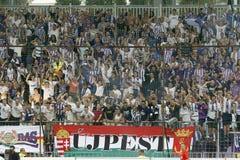 Ujpest对 Ferencvaros OTP银行同盟足球比赛 库存照片