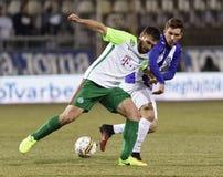 Ujpest FC v Ferencvarosi TC - Hungarian OTP Bank Liga  0-1 Stock Images
